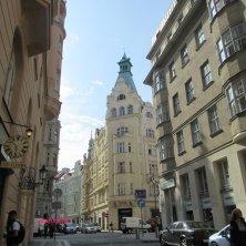 palazzi quartiere ebraico Praga
