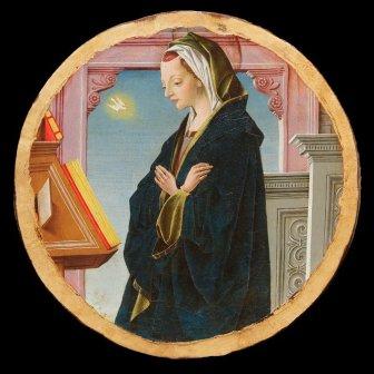 05_Vergine Annunciata_Francesco del Cossa_ Collezione Cagnola, Gazzada