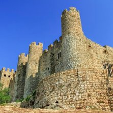 Castle in Obidos, Portugal