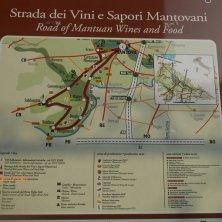 itinerario Strada dei vini e sapori mantovani