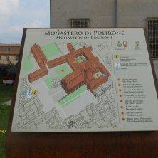piantina monastero di Polirone