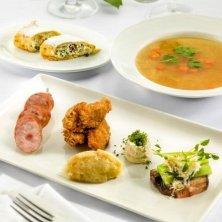 porzioni cibo tradizionale