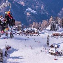 sciare in Slovenia per Tina Maze