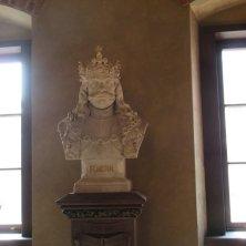 busto re Giorgio boemo