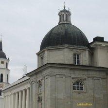 cupola e torre cattedrale chiese di Vilnius
