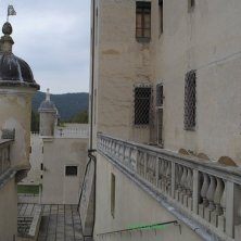 le torrette del castello voluto da Pio Enea deli Obizzi_phVGaluppo