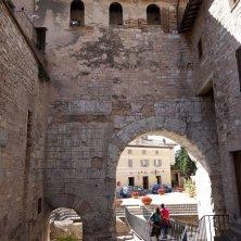 Spello centro storico palazzo Urbani