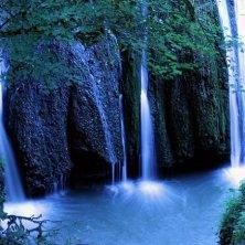 cascata del Parco di Veio