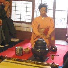 momenti della cerimonia del tè