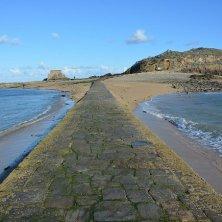 percorso tra la sabbia