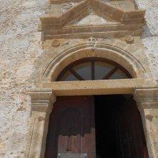 entrata monastero Chiroskalitissa Creta
