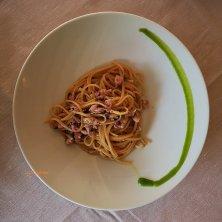 Fettuccine ai calamaretti_Ristorante Antico Petronia_phVGaluppo cucina di Caorle