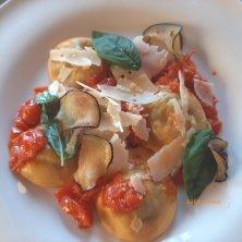 piatto ristorante Castello di Postignano