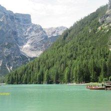 lago di Braies dal sentiero