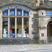 negozio dedicato a Peter Rabbit Lake District