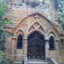 cappella Modlivý dul Valle di Cristallo
