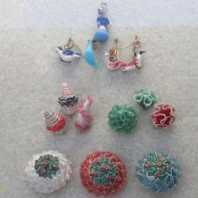 esempi di perline decorate bigiotteria