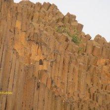 roccia basaltica dettaglio Valle di Cristallo