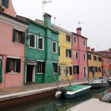 Burano isola laguna di Venezia
