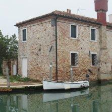 a Torcello case e barca