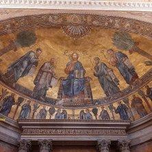mosaico abside San Paolo fuori le Mura
