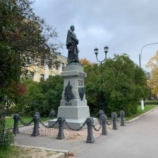 statua commemorativa Kronstadt