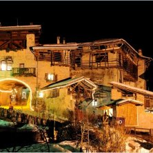 Natale a Rango in notturno