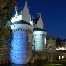 castello in notturno Voyage à Nantes
