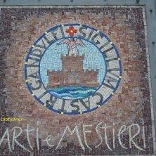 mosaico con stemma