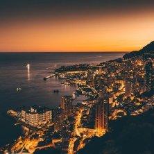 principato Monaco tramonto