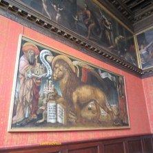 simbolo di Venezia San Marco e leone alato