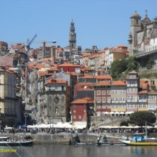 vista di Ribeira Porto vini portoghese