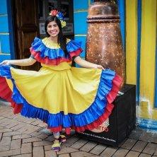 abito tradizionale colombiano