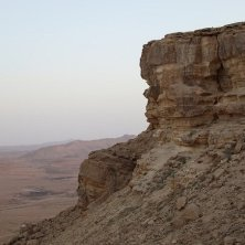 deserto vicino Qumran