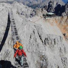 dibona-cristallo ponte sospeso Cortina nel cinema