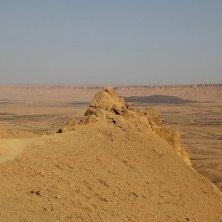 panorma deserto israeliano Qumran