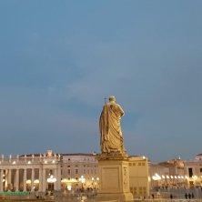 San Pietro prime luci della sera