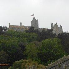 St Michael's Mount visto dall'acqua