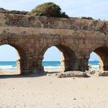acquedotto Cesarea parchi di Israele