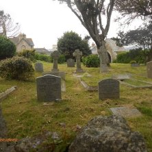 cimitero a St Michael's Mount