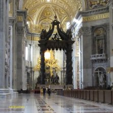 interno basilica San Pietro