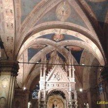 interno chiesa Orsanmichele