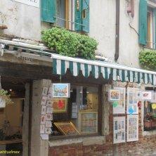 negozio artistico nel Ghetto Venezia