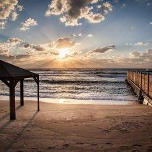 spiaggi di Tel Aviv Israele