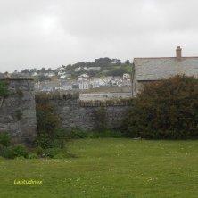 vista del borgo dall'abbazia