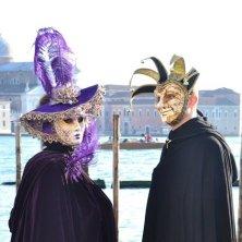 Carnevale veneziano piazza San Marco
