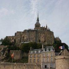 Mont Saint Michel rocca