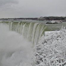 cascate d'inverno