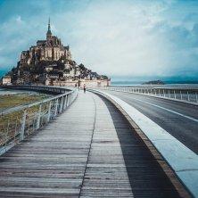passerella mont Saint Michel