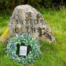 pietra memoriale clan caduti a Culloden